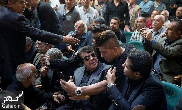 835787 Gahar ir عکسهای بازیگران و هنرمندان در مراسم ختم ناصر ملک مطیعی/ 24 عکس