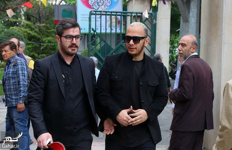 865275 Gahar ir عکسهای مراسم ختم ناصر چشم آذر با حضور هنرمندان