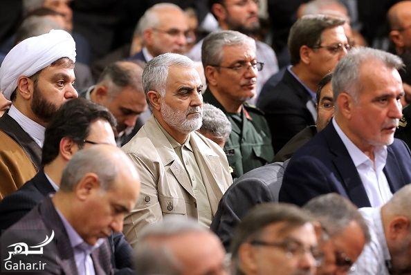 946826 Gahar ir عکسهای دیدنی از دیدار رهبری با سران و فعالان سیاسی فرهنگی