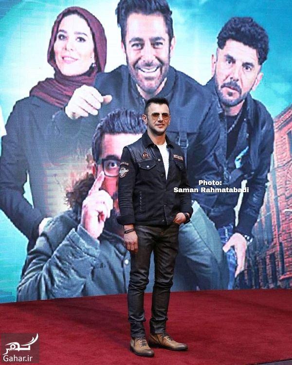 994358 Gahar ir عکسهای امین حیایی و پسرش در افتتاحیه سریال ساخت ایران 2