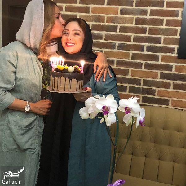 010606 Gahar ir جشن تولد 41 سالگی مهناز افشار در کنار خواهرش و مریم سلطانی / 5 عکس