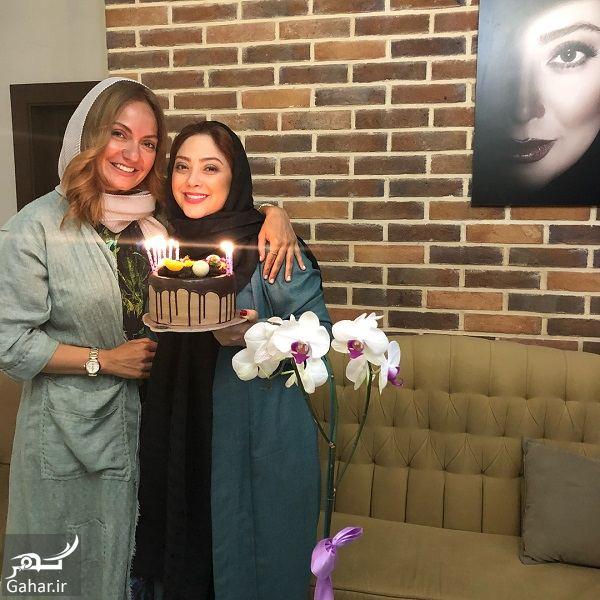059221 Gahar ir جشن تولد 41 سالگی مهناز افشار در کنار خواهرش و مریم سلطانی / 5 عکس