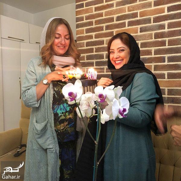 127119 Gahar ir جشن تولد 41 سالگی مهناز افشار در کنار خواهرش و مریم سلطانی / 5 عکس