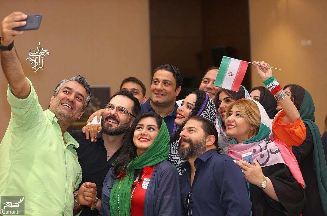 594542 Gahar ir مهمانی خصوصی بازیگران به مناسبت بازی ایران مراکش / تصاویر