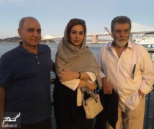 984959 Gahar ir خانم کارگردان ایرانی و پرویز پرستویی کنار بهروز وثوقی