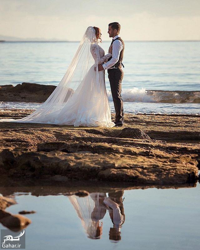 071310 Gahar ir عکس عروسی کاپیتان تیم ملی و همسرش لب دریا !