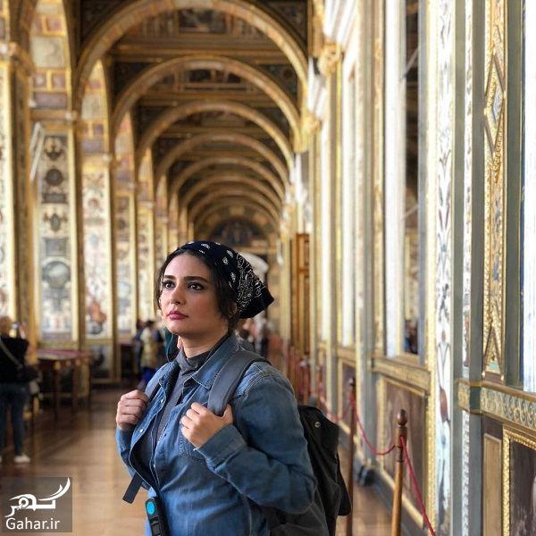لیندا کیانی در کنار هنرمندان معروف در روسیه / ۶ عکس, جدید 1400 -گهر