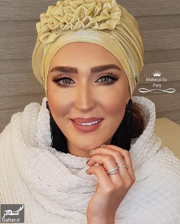 عکس های تبلیغاتی زهره فکور صبور برای یک برند آرایشی !, جدید 1400 -گهر