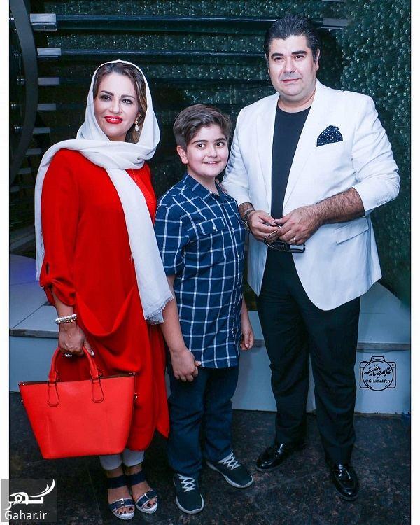 عکس های سالار عقیلی و همسر و پسرش در اکران فیلم سریک, جدید 1400 -گهر