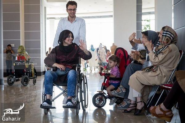 عکسهای فشن شوی معلولین در تهران, جدید 1400 -گهر