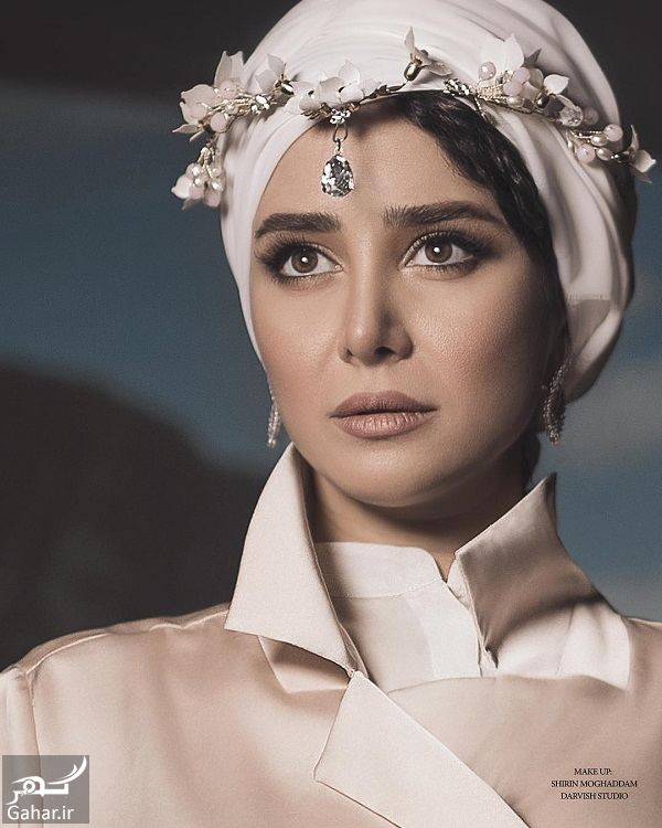 عکس های آتلیه ای جذاب الناز حبیبی, جدید 1400 -گهر