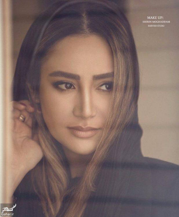 چهره متفاوت بهاره افشاری در فیلم ممنوعه / تصاویر, جدید 1400 -گهر