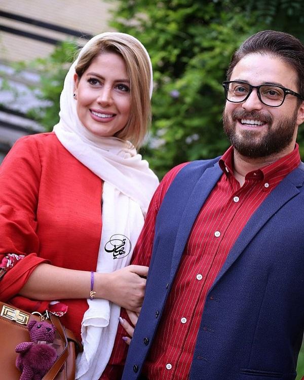 634106 Gahar ir بابک جهانبخش و همسرش در مراسم تجلیل از ژاله علو / 5 عکس