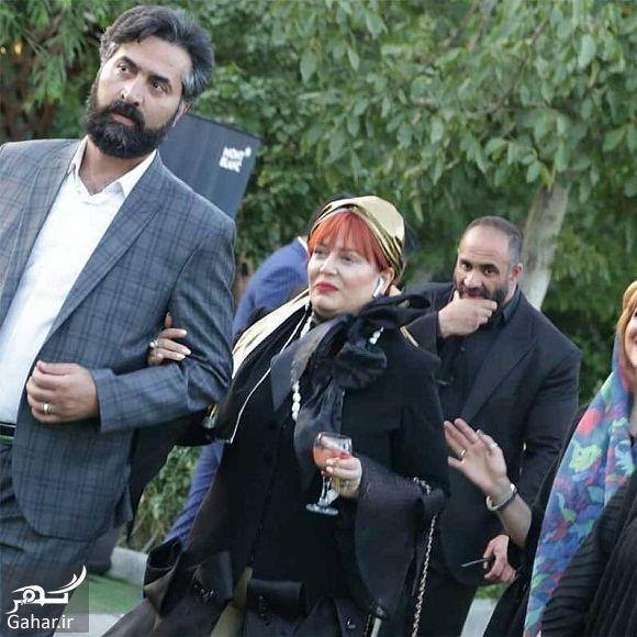 تیپ و آرایش متفاوت بهاره رهنما دست در دست همسرش, جدید 1400 -گهر