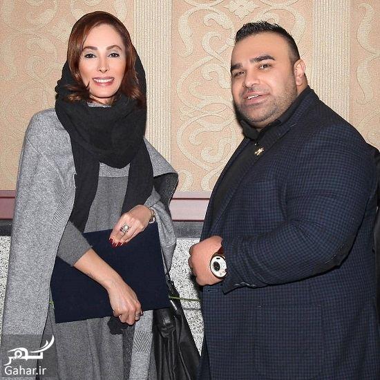 عکس جدید سحر زکریا در کنار بادیگارد معروف, جدید 1400 -گهر