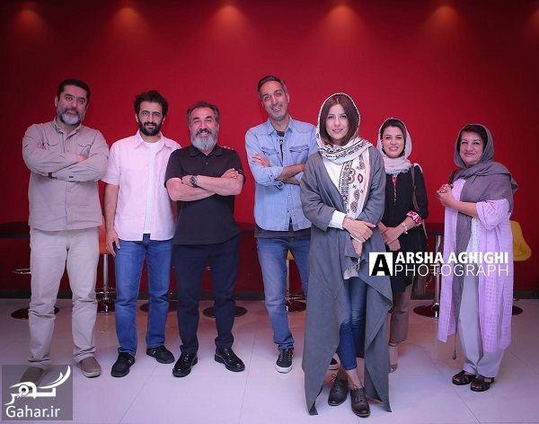 عکسهای سارا بهرامی در اکران فیلم دارکوب, جدید 1400 -گهر