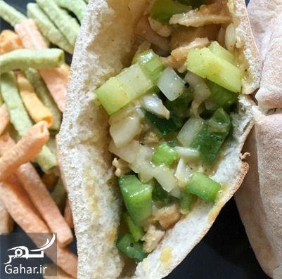 آموزش و طرز تهیه ساندویچ مرغ پیتا, جدید 1400 -گهر