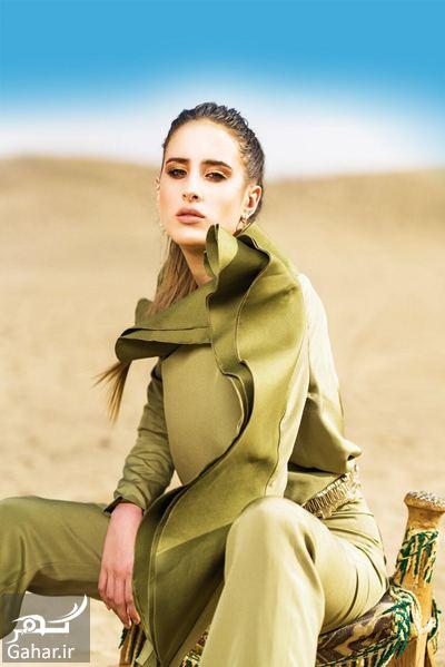 عکس اولین دختر مدل عربستانی, جدید 1400 -گهر