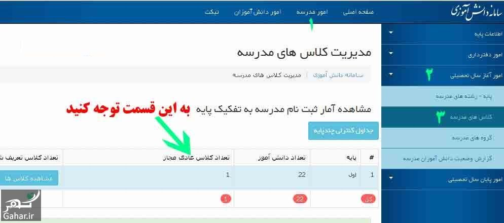 939848 Gahar ir سامانه سناد ثبت نام اینترنتی