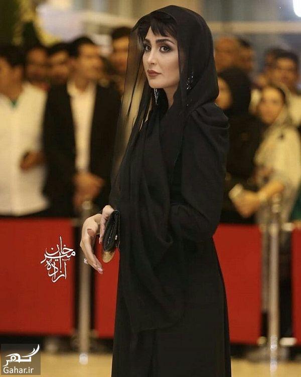 استایل خاص مریم معصومی در هجدهمین جشن حافظ / ۵ عکس, جدید 99 -گهر