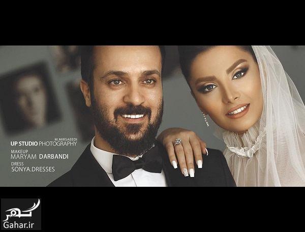 عکس عروسی احمد مهرانفر و همسرش / ۳ عکس جذاب, جدید 1400 -گهر