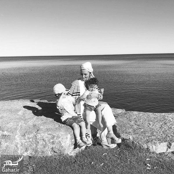 تفریحات روناک یونسی با فرزندانش در آلمان / ۷ عکس, جدید 1400 -گهر