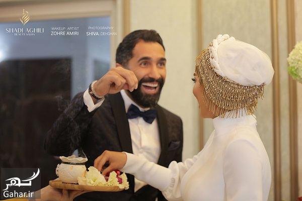 عکسهای جذاب از مراسم ازدواج سمانه پاکدل و هادی کاظمی, جدید 99 -گهر