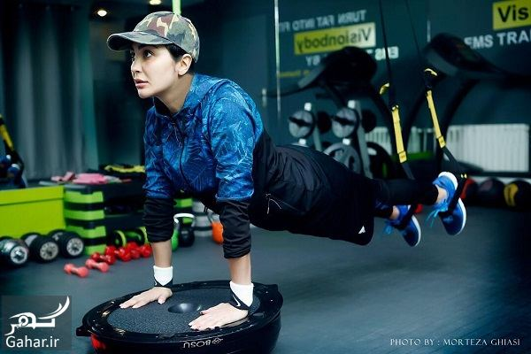 عکس مریم معصومی در باشگاه در حال ورزش, جدید 1400 -گهر