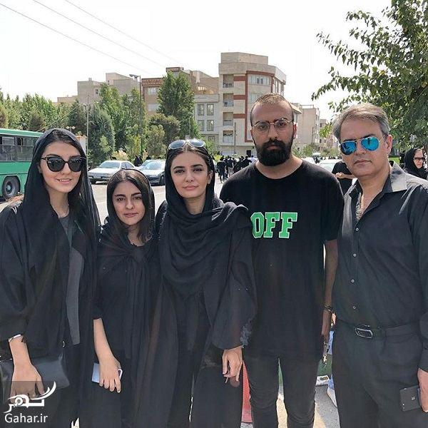 221341 Gahar ir عکس لیندا کیانی و خانواده اش در روز عاشورا