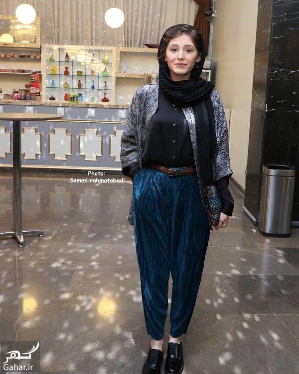 استایل عجیب فرشته حسینی در جشن خانه سینما, جدید 1400 -گهر