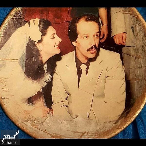 عکسهای عروسی مهوش وقاری و محسن قاضی مرادی, جدید 1400 -گهر
