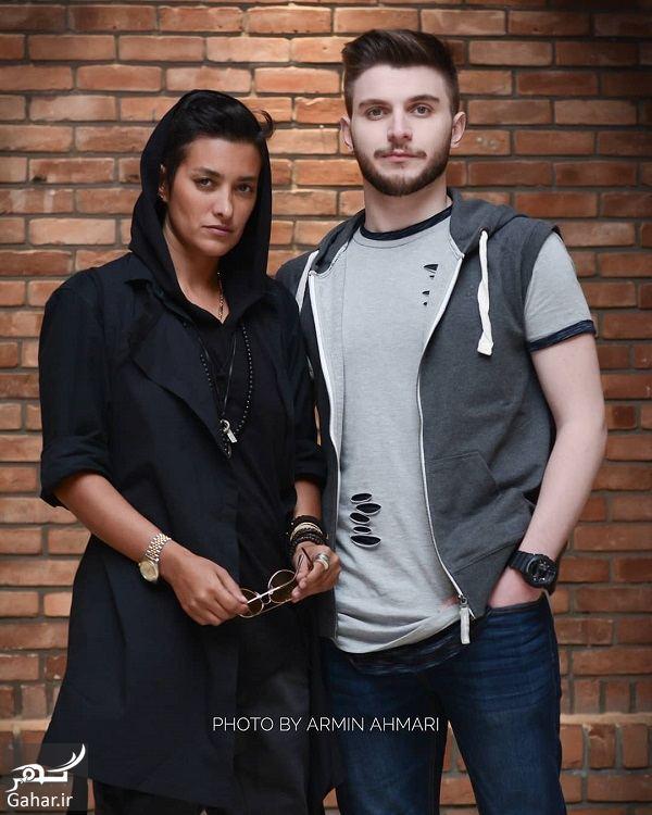دارا حیایی و مادرش با تیپ مردانه عجیب در اکران فیلم شعله ور / ۳ عکس, جدید 1400 -گهر