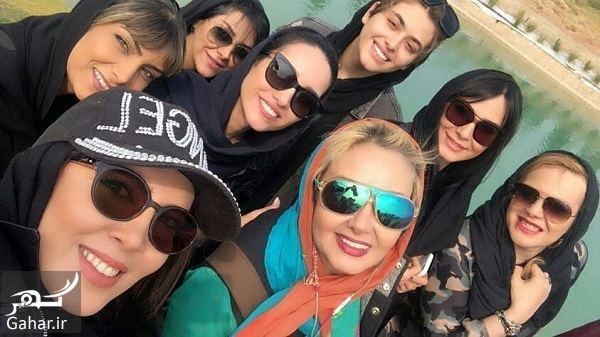 022480 Gahar ir عکسهای بازیگران زن در افتتاحیه پیست موتور سواری بانوان
