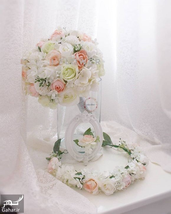 056270 Gahar ir مدل دسته گل عروس فوق العاده شیک و رویایی / 14 مدل