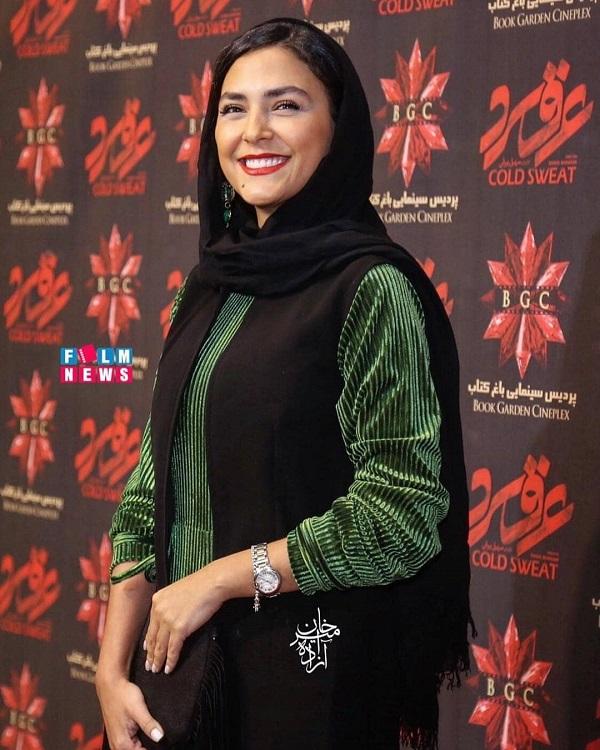 استایل زیبای هدی زین العابدین در اکران مردمی عرق سرد / ۸ عکس, جدید 1400 -گهر