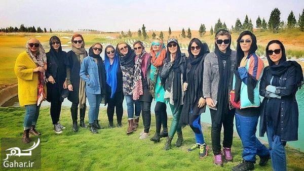 250682 Gahar ir عکسهای بازیگران زن در افتتاحیه پیست موتور سواری بانوان
