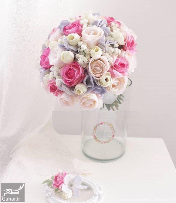 298825 Gahar ir مدل دسته گل عروس فوق العاده شیک و رویایی / 14 مدل