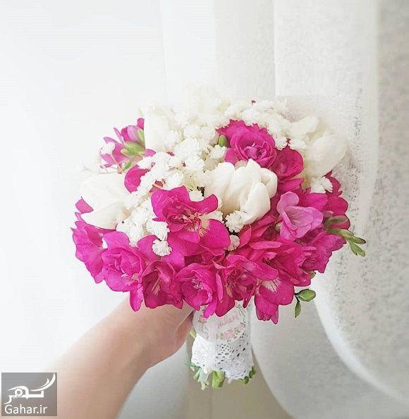426486 Gahar ir مدل دسته گل عروس فوق العاده شیک و رویایی / 14 مدل
