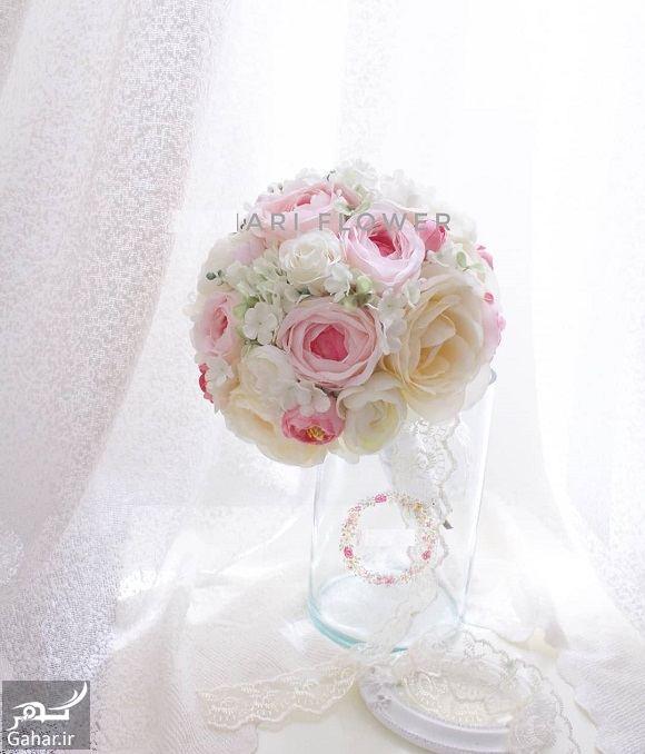 455653 Gahar ir مدل دسته گل عروس فوق العاده شیک و رویایی / 14 مدل