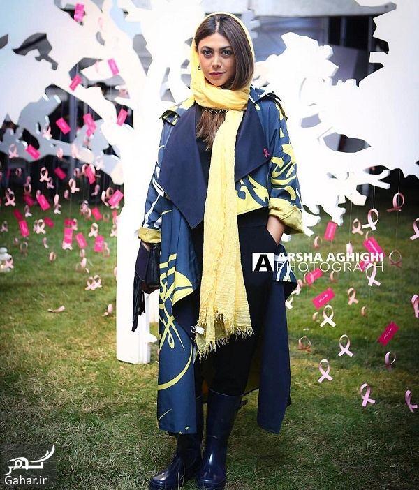 استایل متفاوت آزاده صمدی در مراسم پویش ملی / ۳ عکس, جدید 1400 -گهر