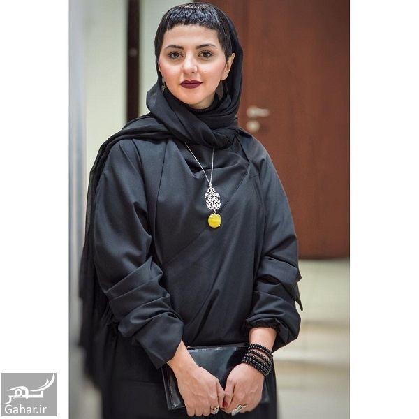 مدل موی عجیب خانم بازیگر در اکران مردمی گرگ بازی / ۵ عکس, جدید 1400 -گهر