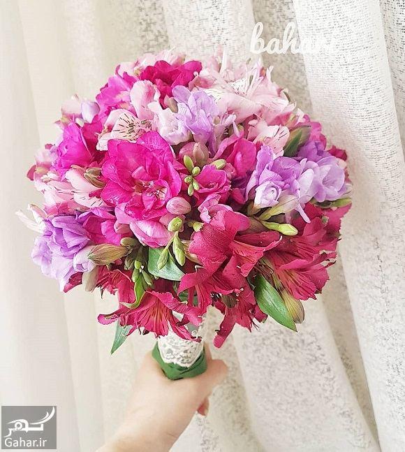 655274 Gahar ir مدل دسته گل عروس فوق العاده شیک و رویایی / 14 مدل