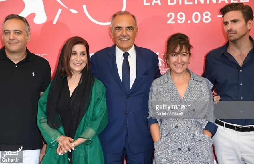 774477 Gahar ir پوشش نامتعارف فاطمه معتمدآریا در جشنواره فیلم ونیز / 5 عکس