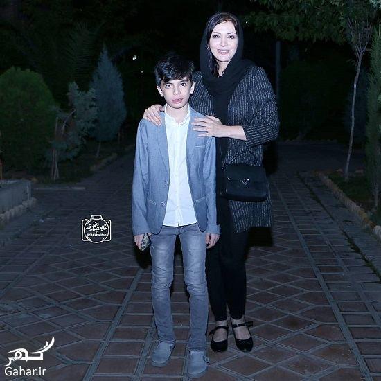 عکس رویا میرعلمی و پسرش در تماشاخانه ایرانشهر, جدید 1400 -گهر