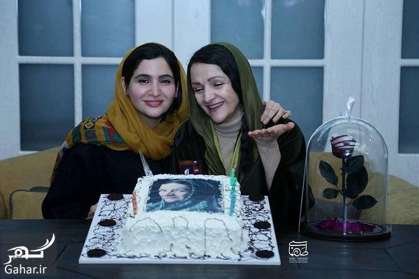 عکسهای جشن تولد گلاب آدینه با حضور هنرمندان, جدید 1400 -گهر