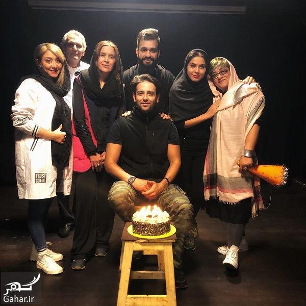 سورپرایز تولد امیرحسین آرمان توسط آزاده زارعی / ۴ عکس, جدید 1400 -گهر