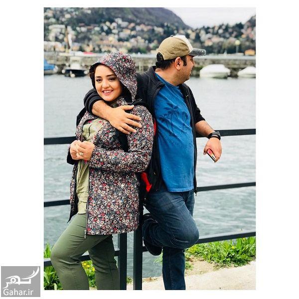 346780 Gahar ir عکسی متفاوت از نرگس محمدی و همسرش در ایتالیا