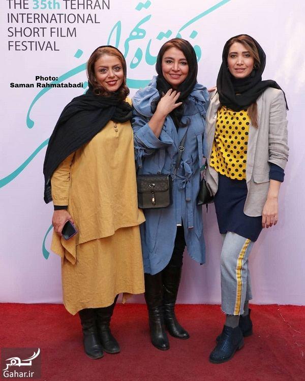 عکس های بازیگران در جشنواره فیلم کوتاه تهران, جدید 1400 -گهر