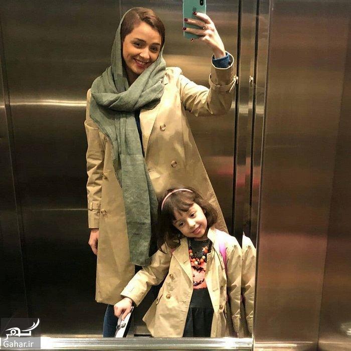 عکس دیدنی از ست کردن ترانه علیدوستی و دخترش حنا, جدید 1400 -گهر
