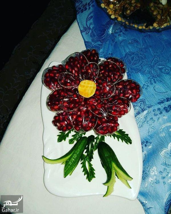 108968 Gahar ir عکس های تزیین انار شب یلدا